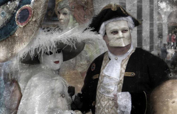 """Виктор Пушкин """"Венеция. Карнавал"""""""