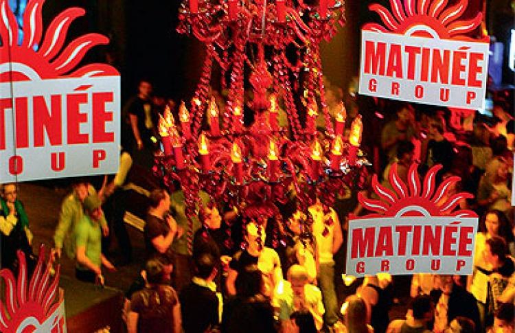 Matinee: DJs Sergio B, Lydia Sanz (оба - Испания), Данила