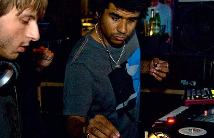 Freak & Chic Night: DJs Jamie Jones (Великобритания), Dyed Soundorom (Франция), Краснов, Хельга