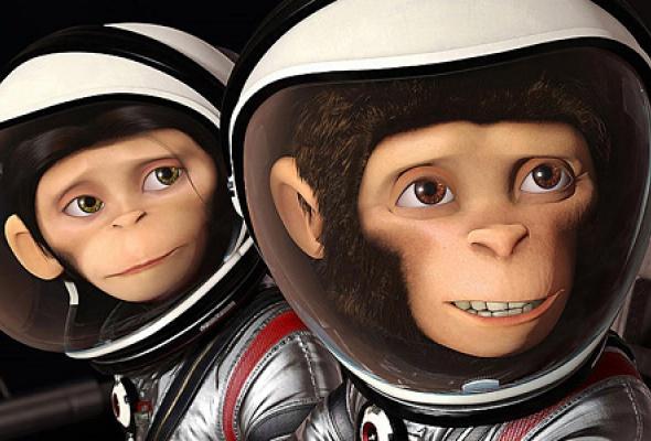 Мартышки в космосе - Фото №0