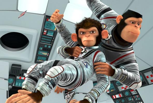 Мартышки в космосе - Фото №3