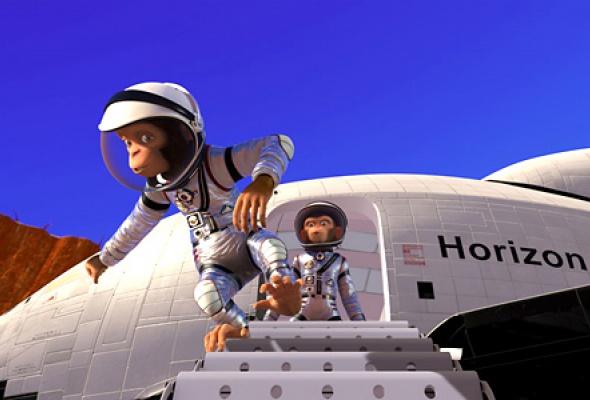 Мартышки в космосе - Фото №4