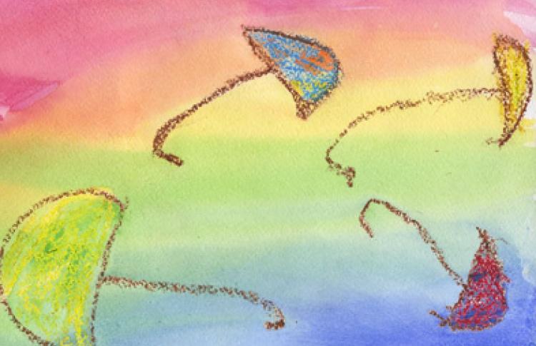 Весенняя благотворительная выставка детского творчества