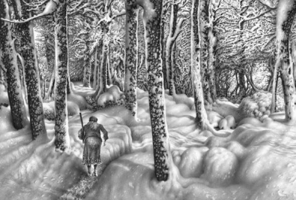 """Гурам Доленджашвили """"Пейзаж без войны"""" - Фото №2"""