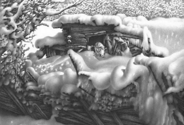 """Гурам Доленджашвили """"Пейзаж без войны"""" - Фото №3"""