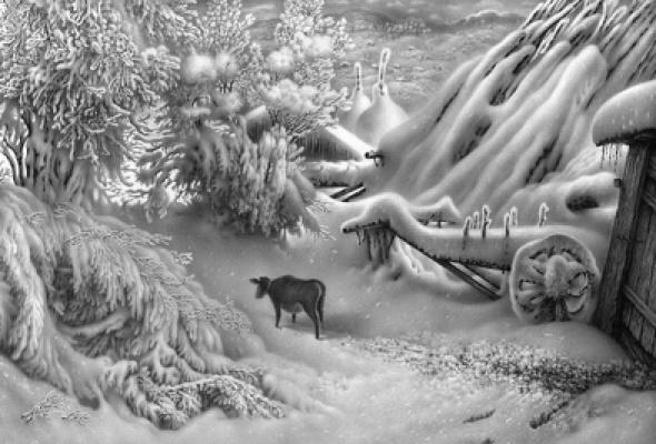 """Гурам Доленджашвили """"Пейзаж без войны"""" - Фото №4"""
