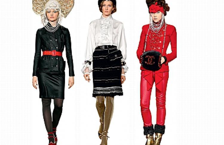Эфемерный бутик Chanel