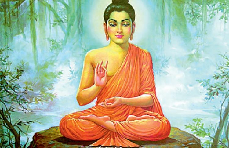 Буддийское мировоззрение в иконографии и современном прикладном искусстве