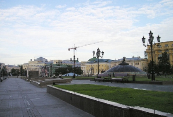 Манежная площадь - Фото №0