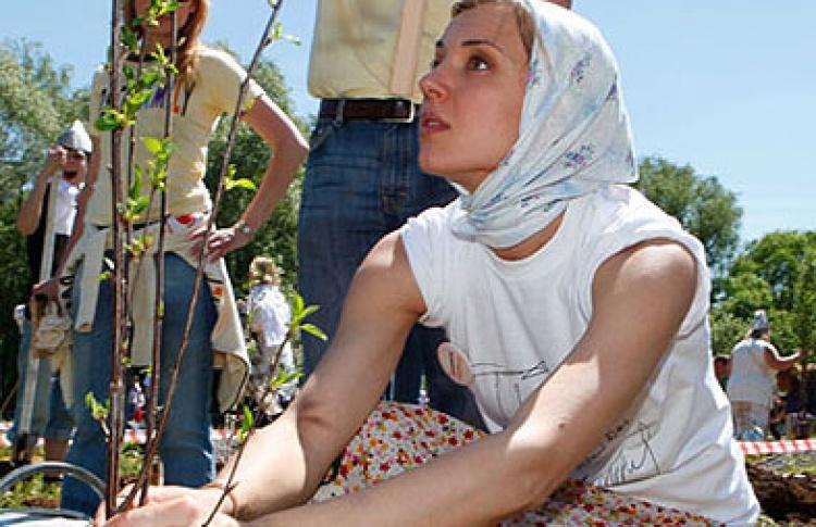 Звезды посадили «Черешневый сад» (фото)