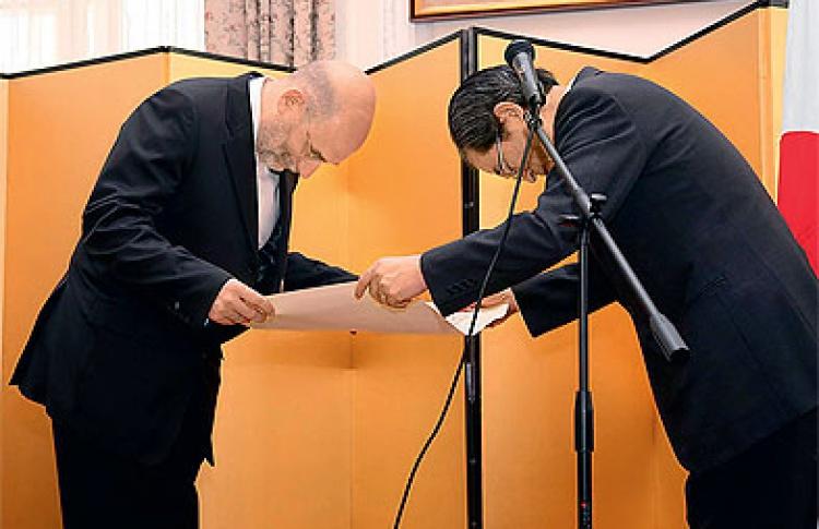 Борис Акунин стал Солнцем Японии