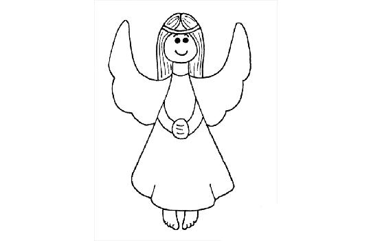 как нарисовать аниме ангела