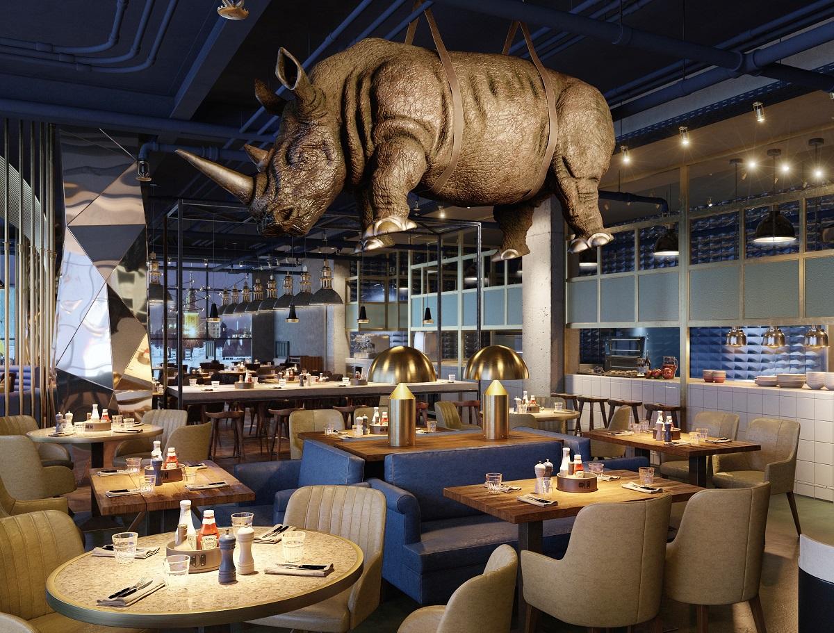 фото ресторанов в европе и америке нанесения декоративной штукатурки