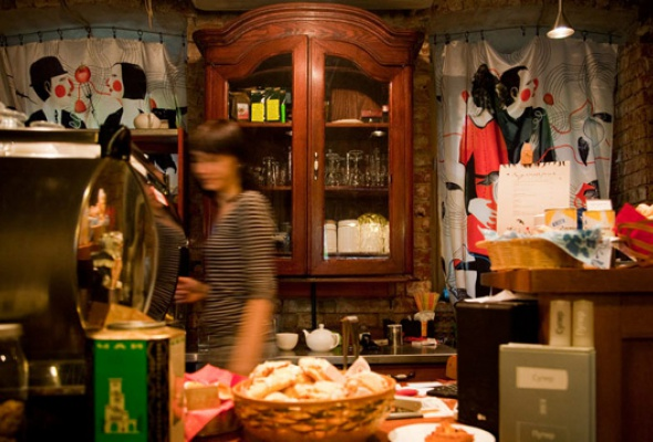 """Кафе и лавка """"Студии Артемия Лебедева"""" на Большой Никитской - Фото №0"""