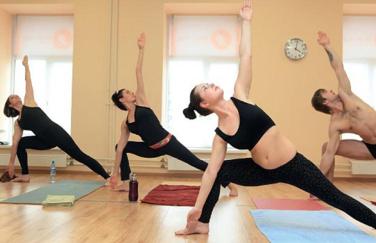 bikram yoga matta