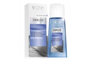 Мягкий укрепляющий шампунь Dercos