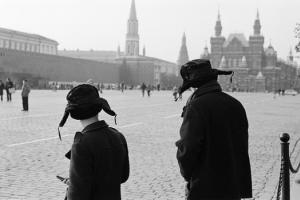 Черно-белая пленочная фотография