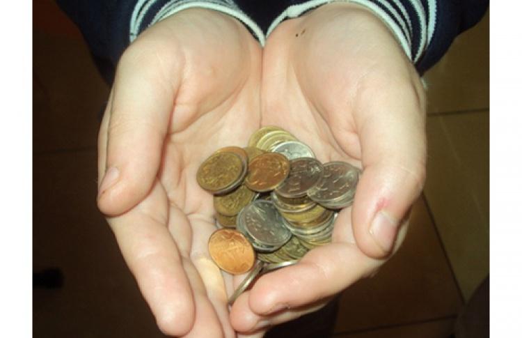 Акция «Монетки насчастье маленьким деткам»