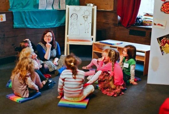 Картинки дети английский театр