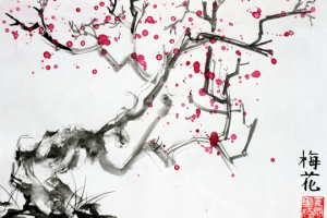 Новогодний мастер-класс по живописи У-Син
