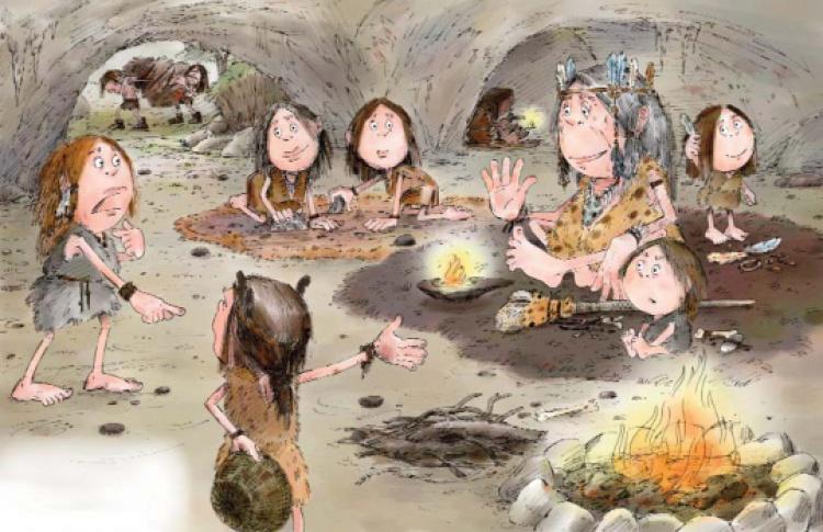 Картинки каменный век школа