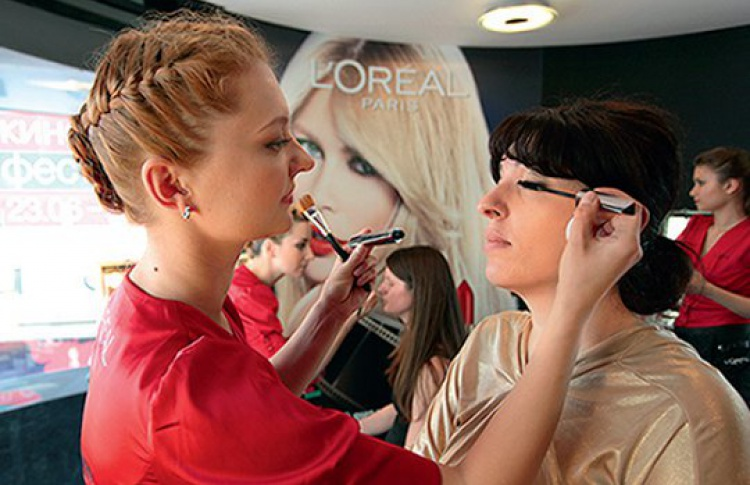 Бесплатный макияж от L'Oreal Paris