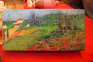Декупаж на дереве, стекле и керамике