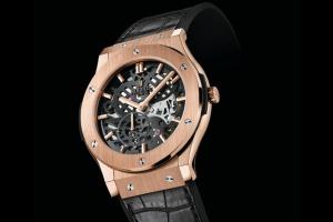 Hublot создал часы ввиде скелетона