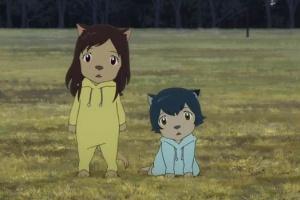 Волчьи дети Амэ и Юки