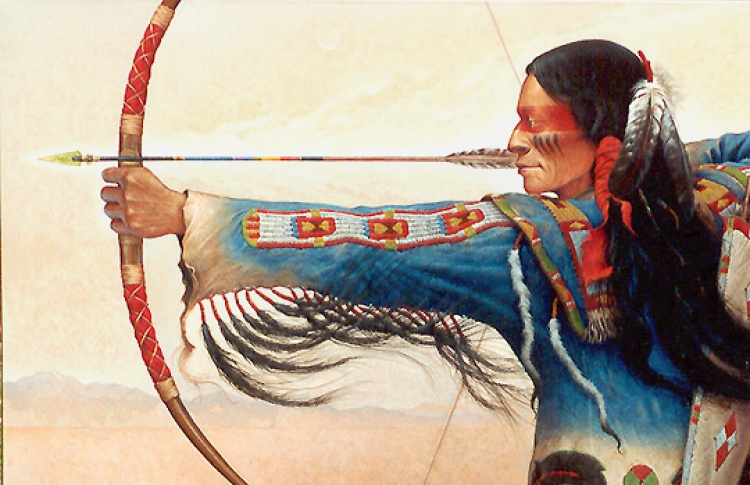 лук и стрелы индейцев картинки компании балконремонт