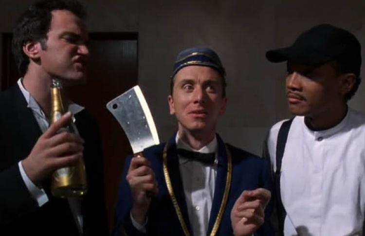 Четыре комнаты, Four Rooms, Комедия, фильм 1995 года, США, в ролях ...