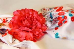 Создание брошек в виде цветов