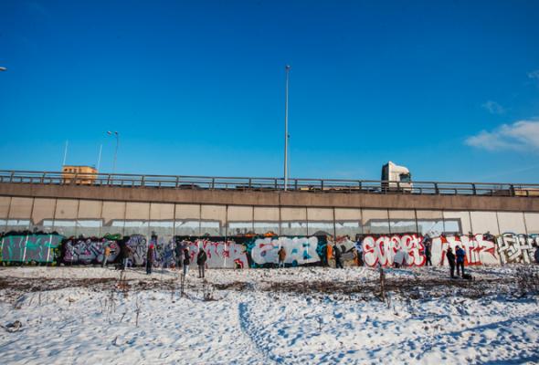 Встреча молодых граффитистов - Фото №3