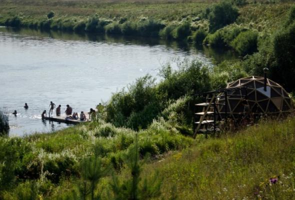 Деревня Никола-Ленивец - Фото №1