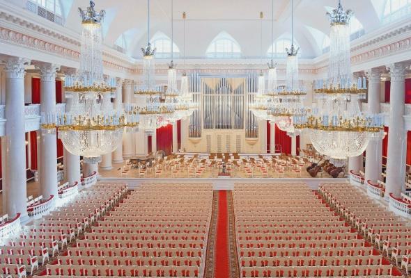 Большой зал Филармонии - Фото №7