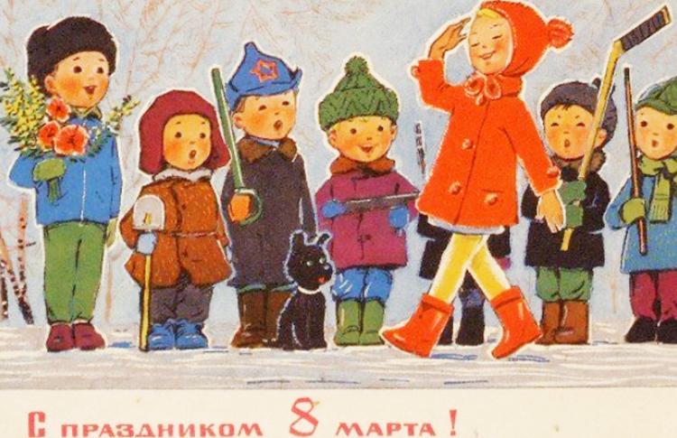 8 марта: праздник в городе