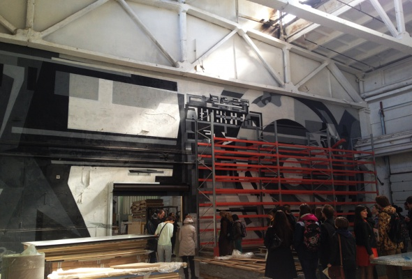 Первая экскурсия в Музее уличного искусства  - Фото №17