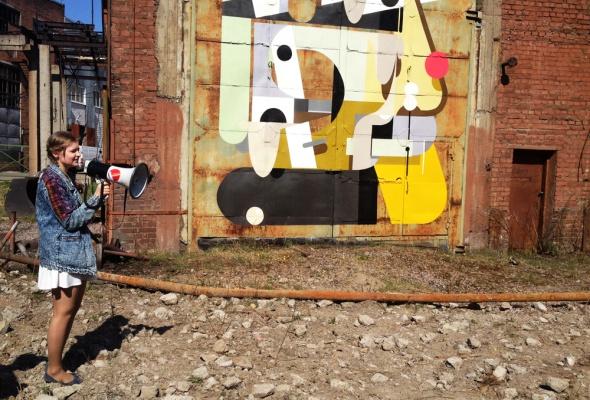 Первая экскурсия в Музее уличного искусства  - Фото №12