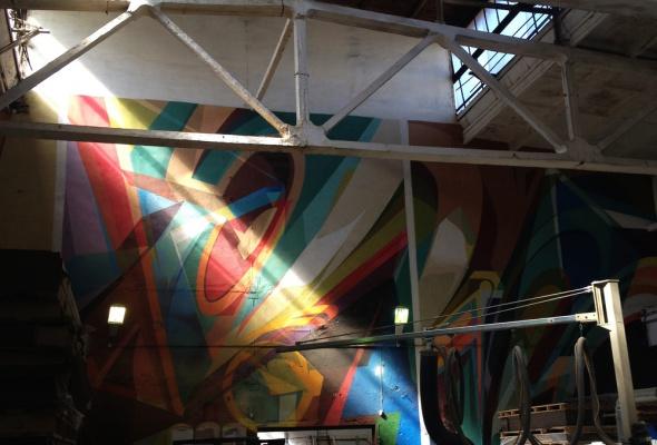 Первая экскурсия в Музее уличного искусства  - Фото №0
