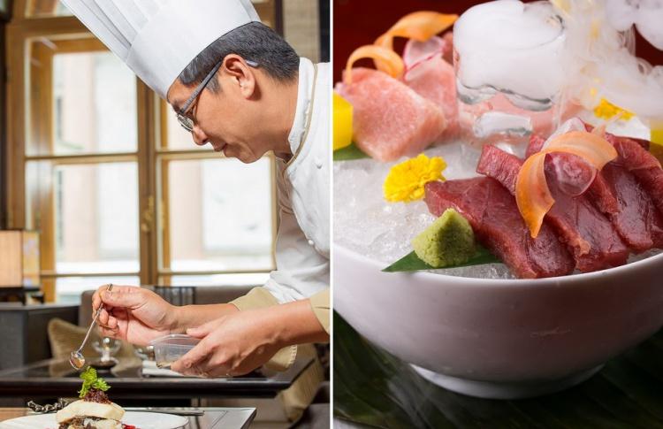 Tuna extravaganza: огромный тунец в ресторане «SINTOHO»