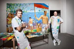 Виноградов и Дубосарский: Картина на заказ