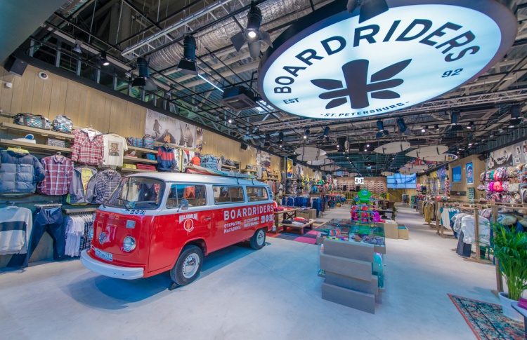 В Петербурге открылся экстрим-магазин Boardriders Фото №446823