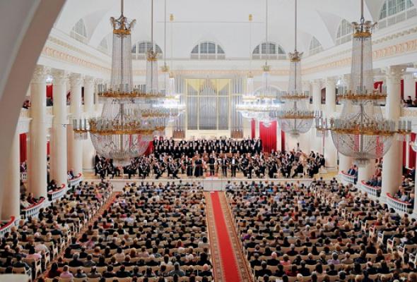 Большой зал Филармонии - Фото №5