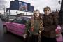 Розовое такси