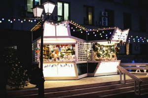 «Путешествие в Рождество»: площадка «Алиса в стране чудес»