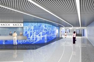 Станцию «Ломоносовский проспект» оформят в цифровом стиле