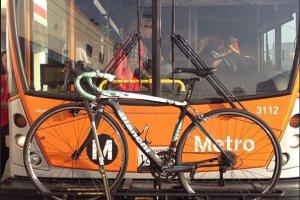Троллейбусы оснащают креплениями для велосипедов