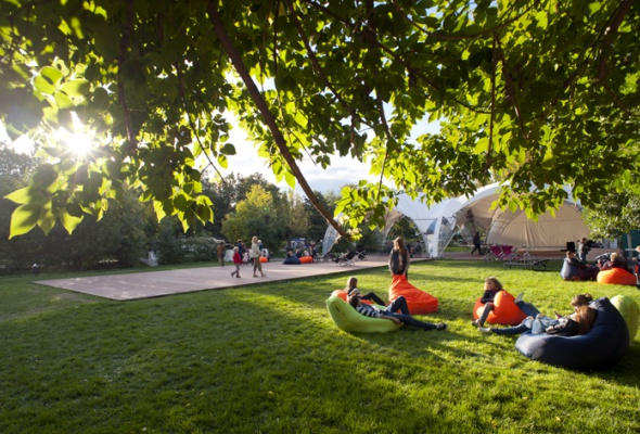 Парк на Красной Пресне - Фото №3