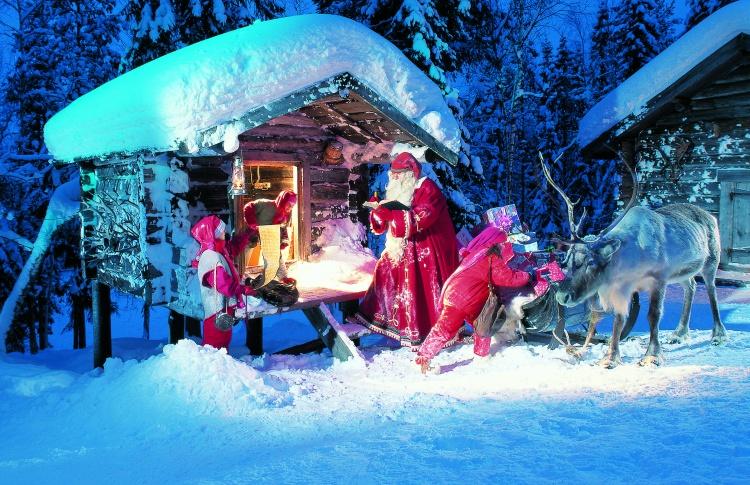 В гостях у сказки: Новый Год в Лапландии