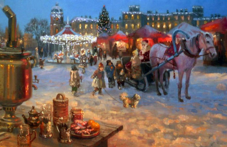 ТОП-7 рождественских ярмарок в Петербурге